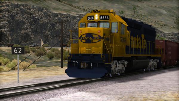 скриншот Train Simulator: AT&SF SD45-2 Loco Add-On 2