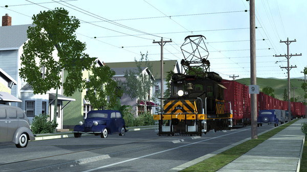 скриншот Train Simulator: Sacramento Northern: Suisun Bay – San Francisco Route Add-On 0
