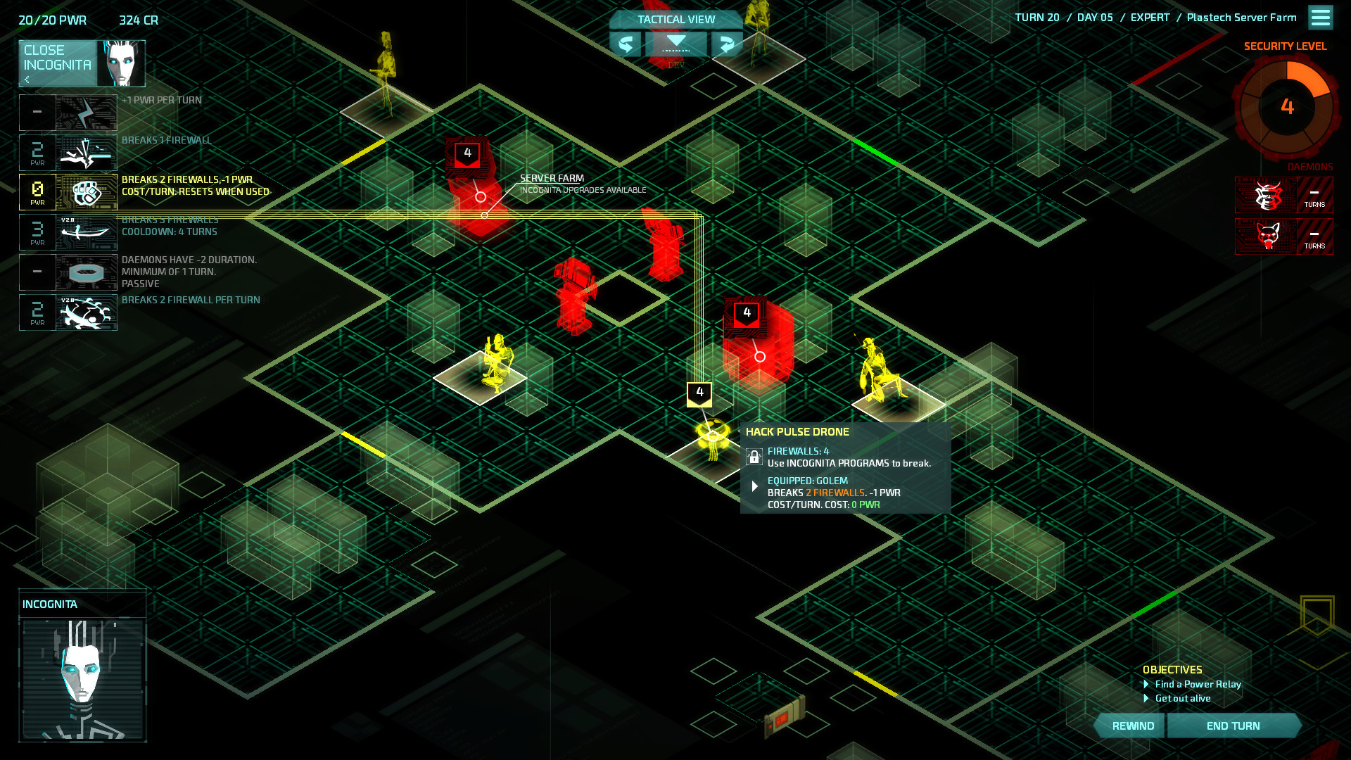 Invisible, Inc. Contingency Plan screenshot 3