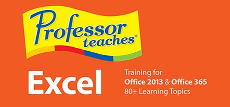Professor Teaches® Excel 2013 & 365 on Steam