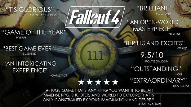 Fallout 4 awards