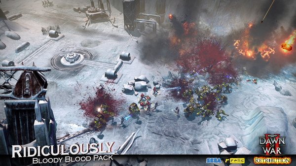 Warhammer 40,000: Dawn of War II - Retribution - Ridiculously Bloody Blood Pack