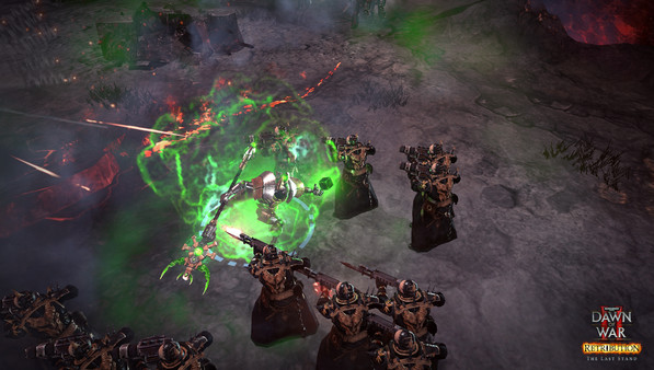 Warhammer 40,000: Dawn of War II - Retribution - The Last Stand Necron Overlord