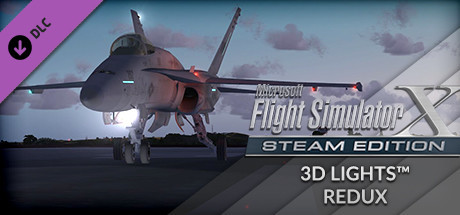 FSX: Steam Edition - 3D Lights Redux Add-On on Steam