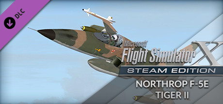 FSX: Steam Edition - Northrop F-5E Tiger II Add-On