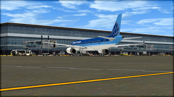 FSX: Steam Edition - HD Airport Graphics Add-On - Wong's Store - Cửa