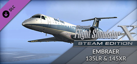 FSX: Steam Edition - Embraer ERJ 135LR & 145XR Add-On