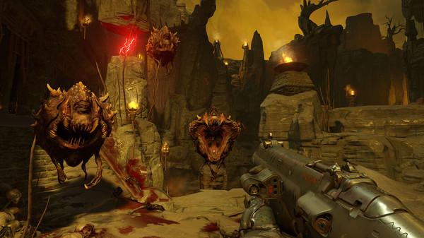 doom in-game screenshot
