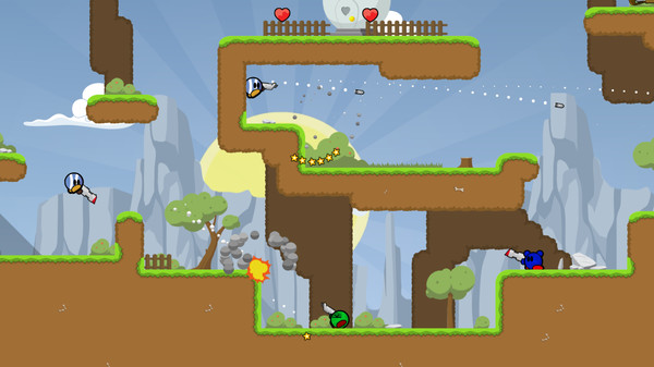 Screenshot of Teeworlds