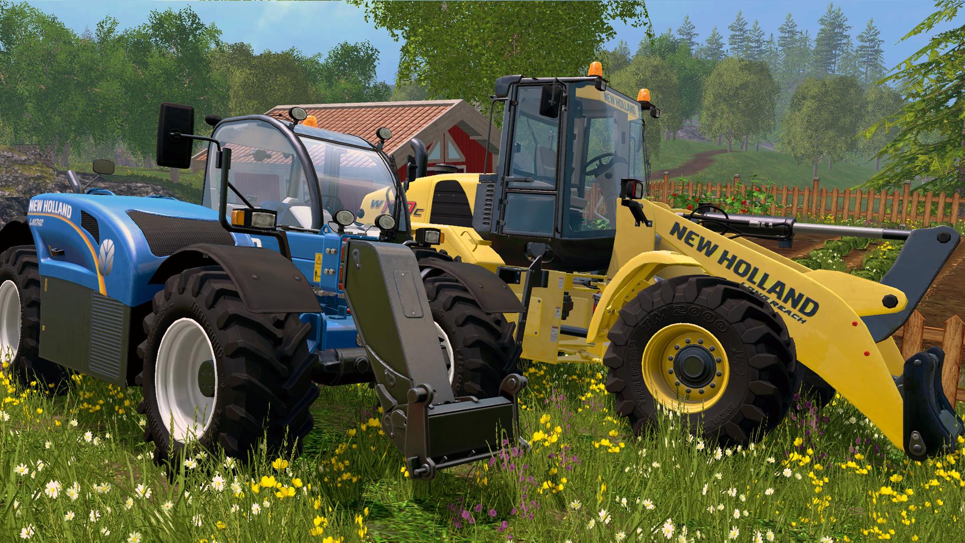 Farming Simulator 15 - New Holland Loader Pack on Steam