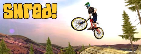 Shred! Downhill Mountain Biking - 粉碎!山地自行车速降