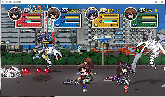 Galeria Imagenes Phantom Breaker Battle Grounds  Kemomimi Costume DLC REVENTA STEAM 2