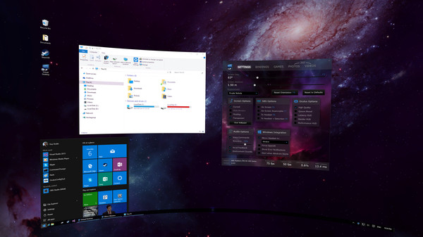 Virtual Desktop Screenshot