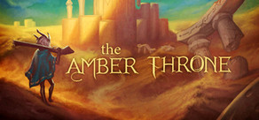 The Amber Throne cover art