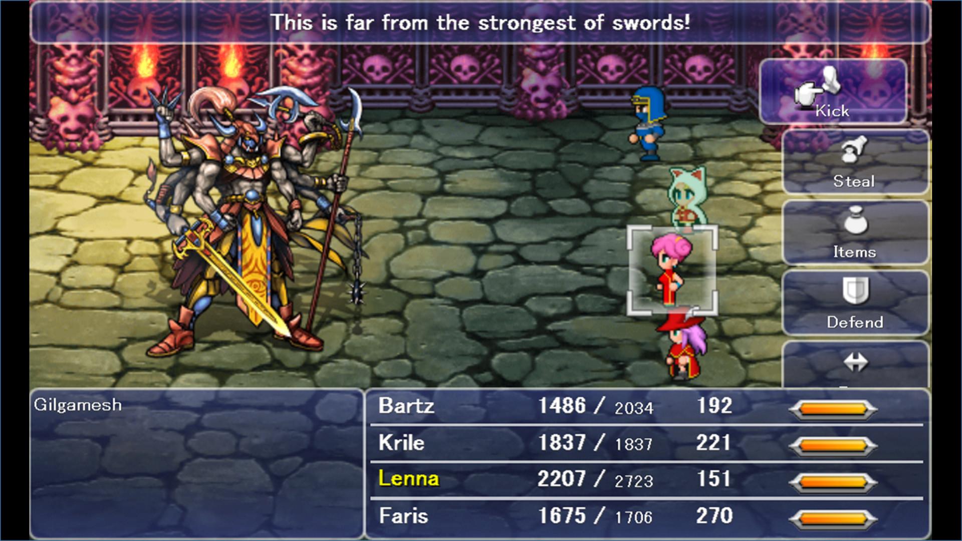 Final Fantasy V ESPAÑOL PC Full (RELOADED) 2