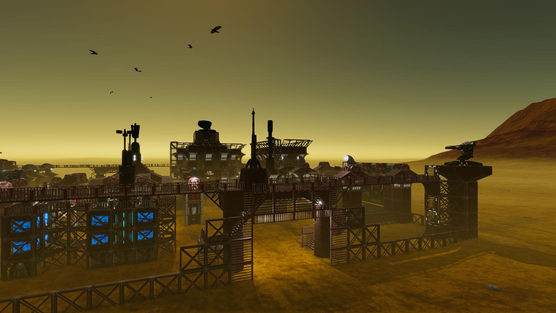 Screenshot of Empyrion server hosting