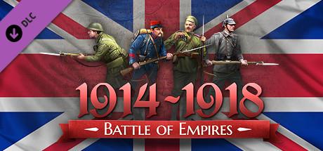 Battle of Empires : 1914-1918 -  British Empire on Steam