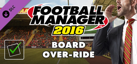 Football Manager 2016 Touch Mode - Board-Override