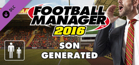 Football Manager 2016 Touch Mode - Son Generated