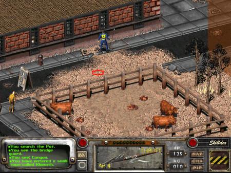 تحمل لعبة نهاية العالم الجزء التاني - Fallout 2: A Post Nuclear Role Playing Game
