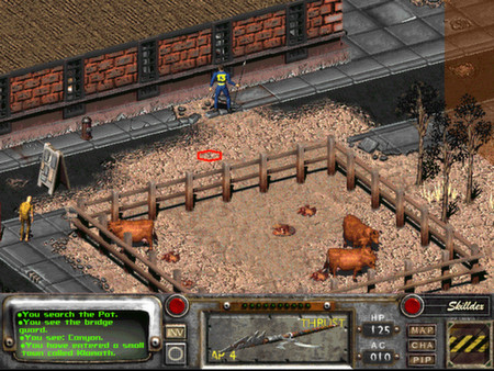 скриншот Fallout 2: A Post Nuclear Role Playing Game 4