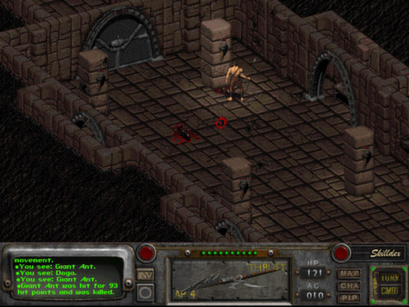 скриншот Fallout 2: A Post Nuclear Role Playing Game 1
