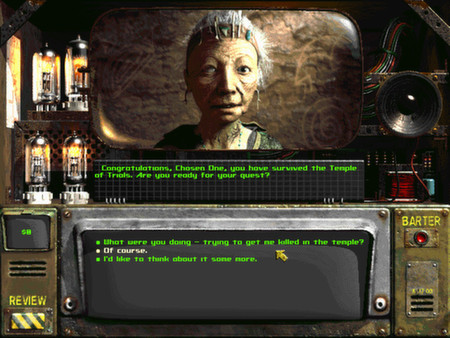скриншот Fallout 2: A Post Nuclear Role Playing Game 0