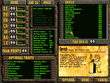 скриншот Fallout 2: A Post Nuclear Role Playing Game 2