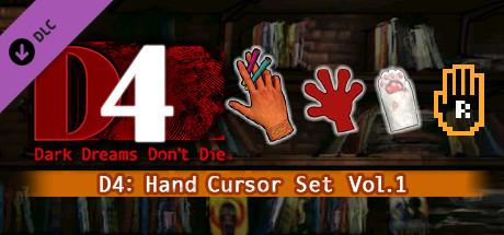 D4: Hand Cursor Set Vol.1 on Steam