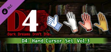 D4: Hand Cursor Set Vol.3 on Steam
