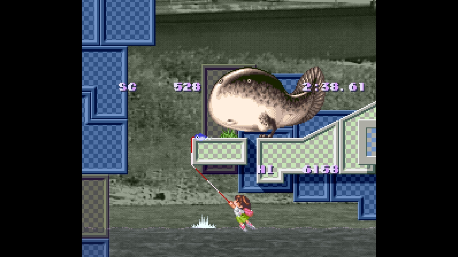 snes fishing games