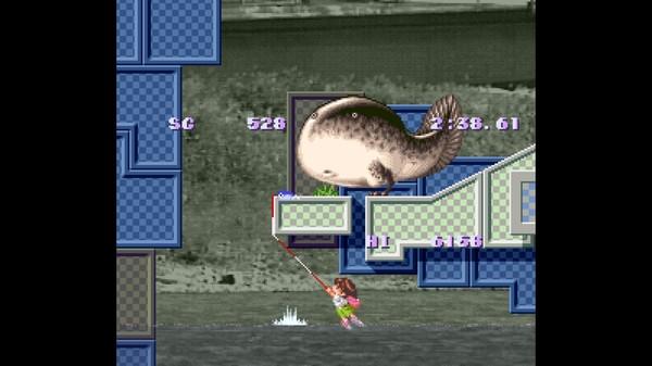 скриншот Umihara Kawase 1