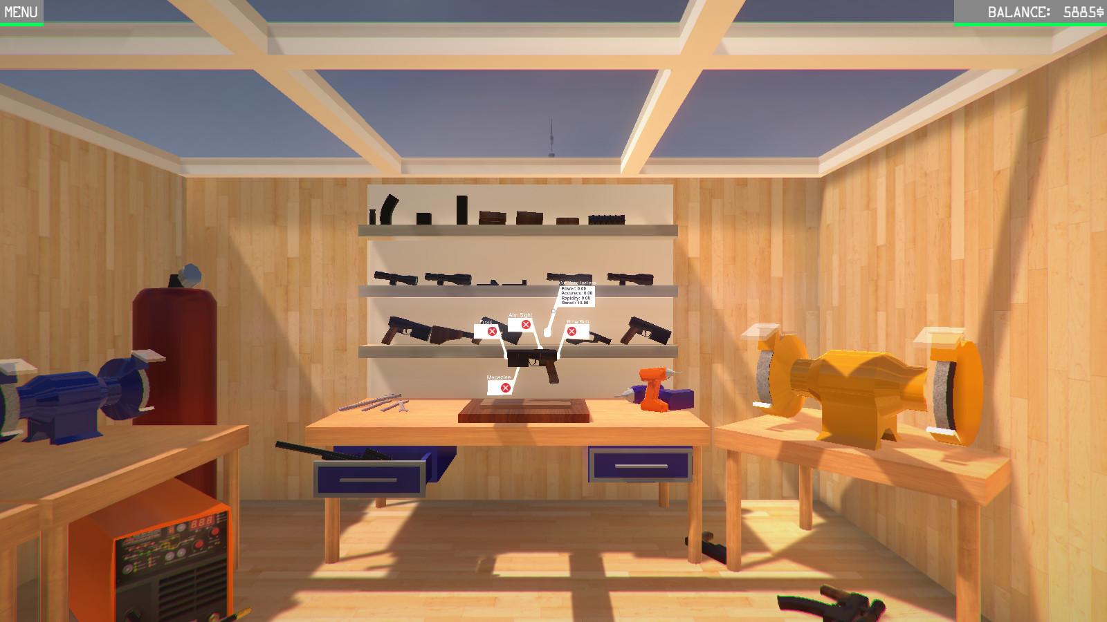 Weapons Genius создаём AK 47 и Револьвер - YouTube