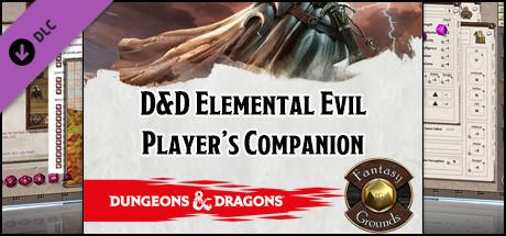 save 25 on fantasy grounds d d elemental evil player s companion