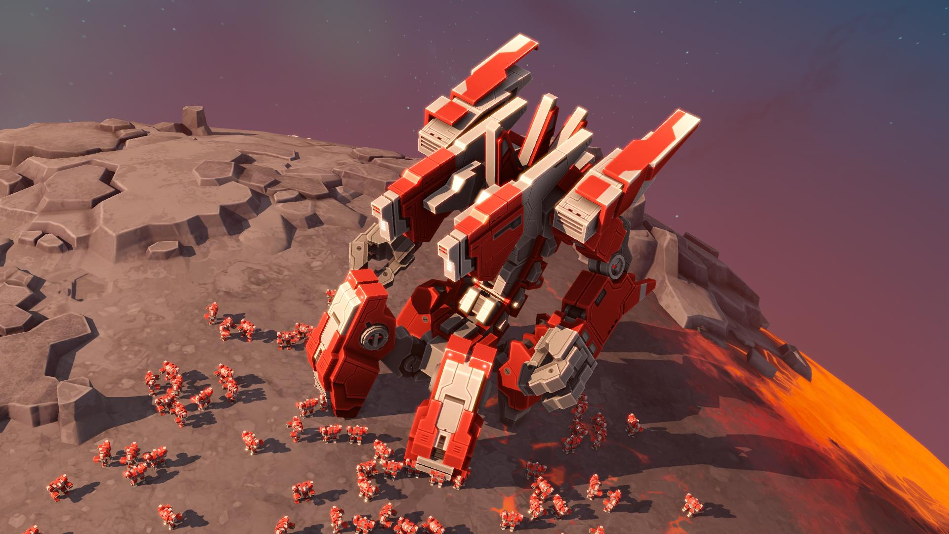 Planetary Annihilation: TITANS (RUS|ENG|MULTI12) [RePack] от R.G. Механики