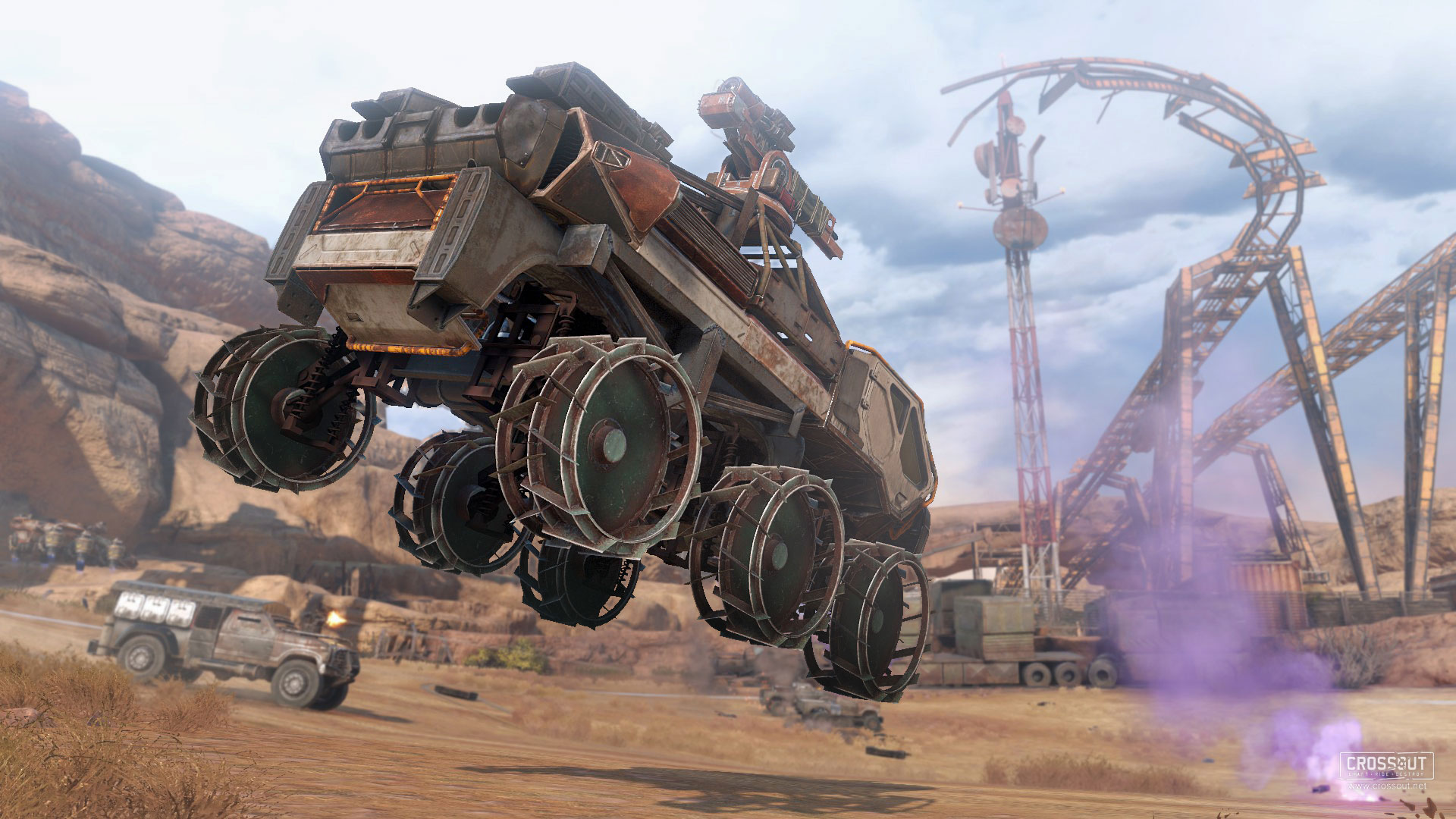Crossout on Steam
