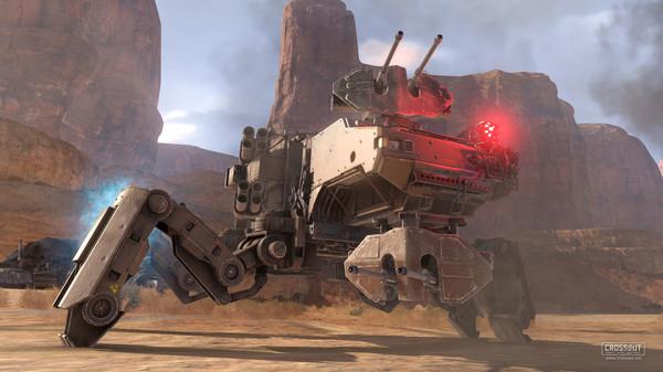 Screenshot of Crossout