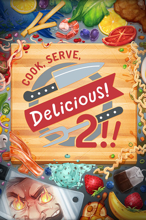 Cook, Serve, Delicious! 2!! poster image on Steam Backlog