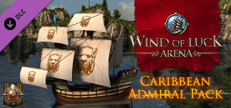 Wind of Luck: Arena - Caribbean Admiral pack