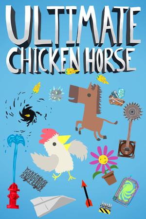 Ultimate Chicken Horse poster image on Steam Backlog