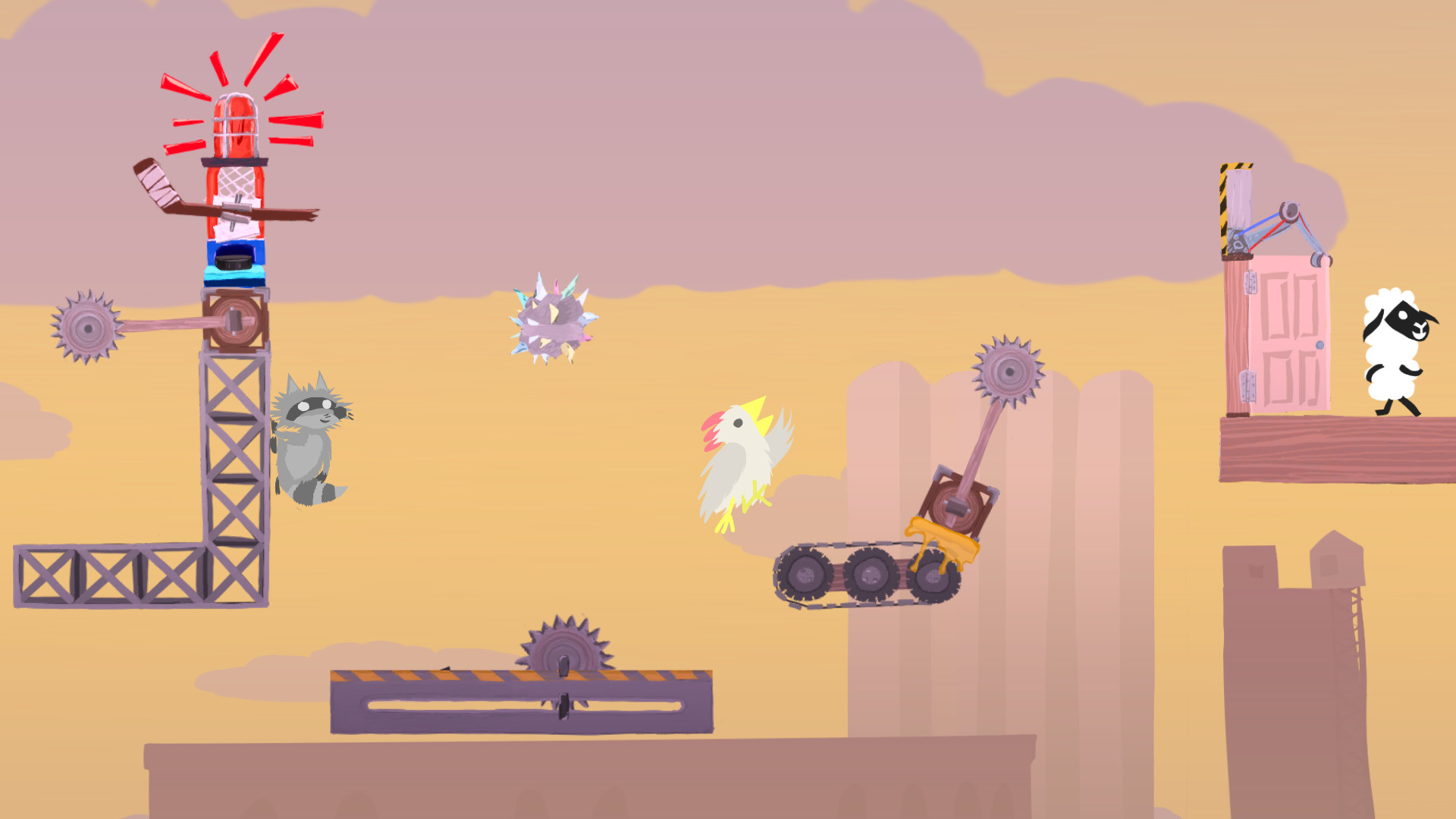 Bilderesultat for Ultimate Chicken Horse