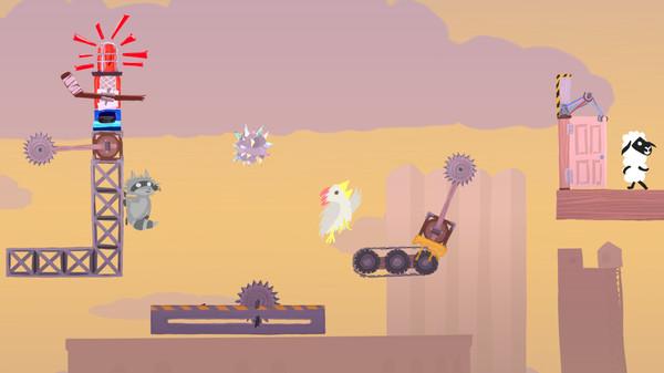скриншот Ultimate Chicken Horse 4