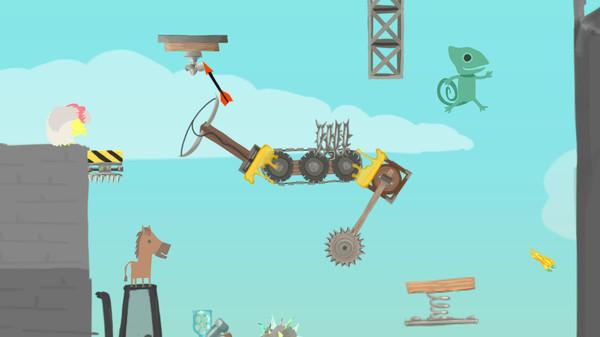скриншот Ultimate Chicken Horse 2