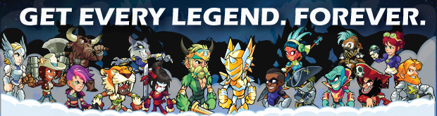 Brawlhalla - All Legends (Current and Future) CD Key For Steam