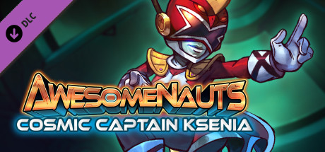 Awesomenauts - Cosmic Captain Ksenia Skin
