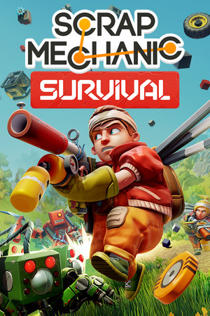 Scrap Mechanic poster image on Steam Backlog