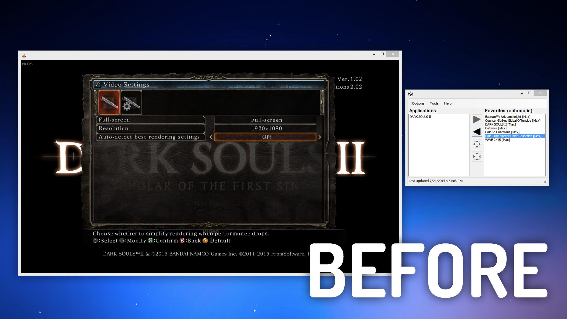 fallout 3 fake fullscreen