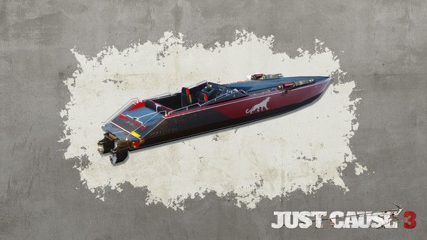 Just Cause™ 3 - Mini-Gun Racing Boat