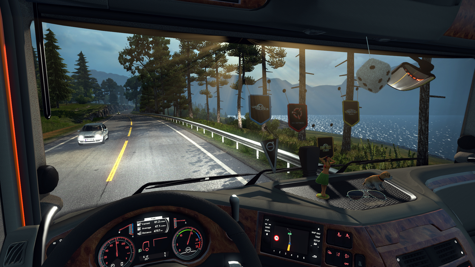 Euro truck simulator 2 cabin accessories on steam