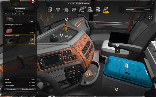 Euro Truck Simulator 2 - Cabin Accessories